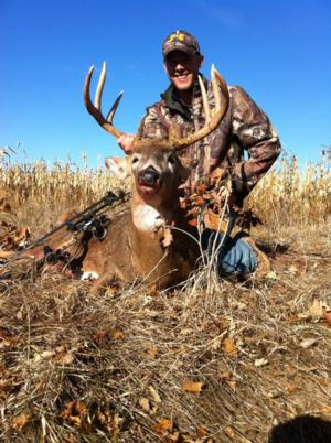 Clynt's 2012 Archery deer in Wisconsin